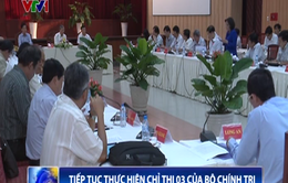 Các tỉnh, thành phía Nam thực hiện Chỉ thị 03 của Bộ Chính trị