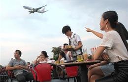Cà phê máy bay - dịch vụ kinh doanh mới lạ