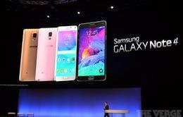 Galaxy Note 4 sắp có mặt tại thị trường Việt Nam