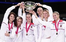 ĐT CH Czech vô địch Fed Cup 2014