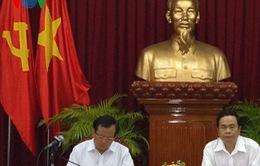 Bí thư Thành ủy Hà Nội Phạm Quang Nghị làm việc tại Cần Thơ
