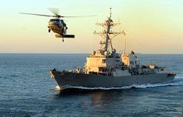 Mỹ điều thêm tàu chiến hỗ trợ tìm kiếm máy bay QZ8501