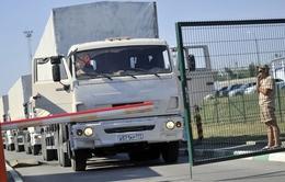 Đoàn xe cứu trợ thứ ba của Nga đã tới Donetsk