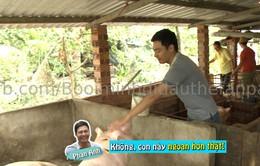 """Bố ơi! Mình đi đâu thế: MC Phan Anh """"hết hồn"""" vì bị lợn cắn"""