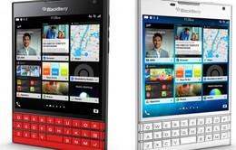 """BlackBerry Passport màu đỏ và trắng chính thức """"lên kệ"""""""