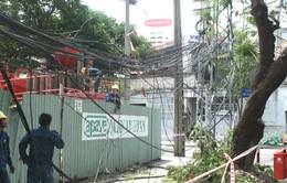 Hà Nội kịp thời cấp điện trở lại sau sự cố mất điện diện rộng