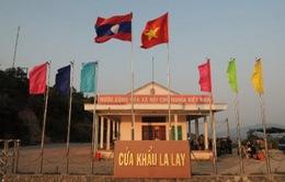 Quảng Trị: Ùn ứ xe chở gỗ tại cửa khẩu quốc tế La Lay