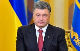 Tổng thống Ukraine lạc quan về lệnh ngừng bắn ở miền Đông