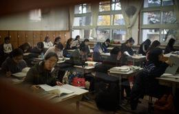 Đề thi đại học sai, quan chức giáo dục Hàn Quốc từ chức