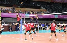 Đội tuyển nữ Việt Nam thất bại tại Cúp bóng chuyền nữ châu Á