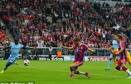 Boateng lập siêu phẩm, Bayern đả bại Man City đầy kịch tính