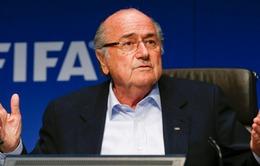 Sepp Blatter quyết tâm khôi phục uy tín FIFA sau bê bối hối lộ