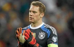 Neuer thừa nhận yếu thế hơn Ronaldo và Messi