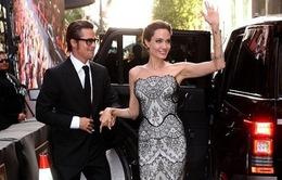 Vợ chồng Brad Pitt lần đầu sánh bước sau đám cưới