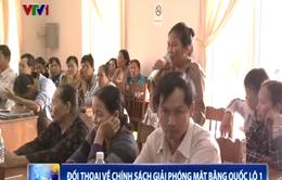 Bình Định đối thoại về chính sách giải phóng mặt bằng Quốc lộ 1