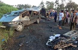Đăk Lăk: Tai nạn giao thông nghiêm trọng, 12 người thương vong