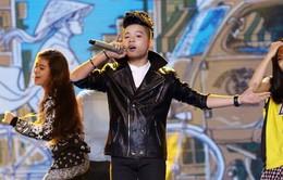 """Thiện Nhân, Quang Anh """"đốt cháy"""" Gala Giọng hát Việt nhí 2014"""