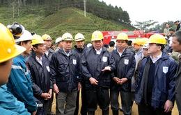 Hai Bộ trưởng trực tiếpchỉ đạo vụ sập hầm thủy điện
