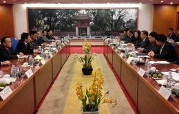 Việt Nam - Lào trao đổi kinh nghiệm về phát triển kinh tế