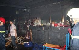 TP.HCM: Cháy lớn tại đoàn lân sư rồng Quận 11