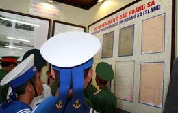 Kiên Giang: Trưng bày tư liệu, bản đồ về Hoàng Sa, Trường Sa