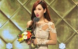 """Mỹ nhân """"Lửa hận tình thù"""" đoạt giải tại MBC Drama Awards 2014"""
