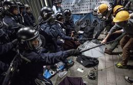 Cảnh sát Hong Kong chỉ trích hành động quá khích của người biểu tình