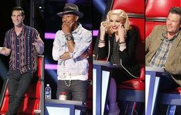 """The Voice Mỹ: HLV Pharrell Williams dẫn đầu với 5 """"chiến binh"""""""