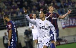 """Cris Ronaldo cân bằng kỷ lục với """"Chúa nhẫn"""" ở Champions League"""