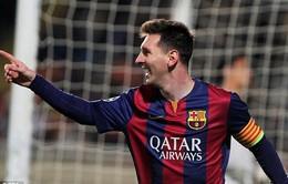 Lập hat-trick, Messi độc chiếm kỷ lục ghi bàn tại Champions League