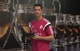 Ronaldo nhận giải Nhân vật thể thao xuất sắc nhất 2014