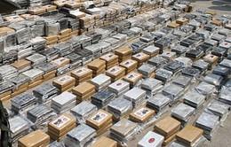 Pháp bắt giữ một hang ổ cung cấp ma túy lớn