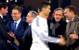 Không có hiềm khích giữa Ronaldo và Chủ tịch Platini