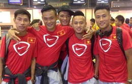 U23 Việt Nam tản mác về nước sau thất bại tại ASIAD 17