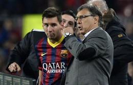 Martino: Huấn luyện Messi luôn là công việc bạc bẽo
