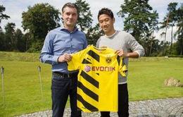 Chưa thi đấu, Kagawa đã kiếm bộn tiền cho Dortmund