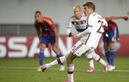 """CSKA Moscow 0-1 Bayern Munich: Hùm xám suýt """"cóng"""" trên đất Nga"""