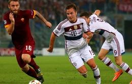 """Thầy trò AS Roma """"đắng lòng"""" sau trận thua muối mặt 1-7"""