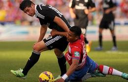 """James Rodriguez muốn """"cạnh tranh"""" với C.Ronaldo, G.Bale"""