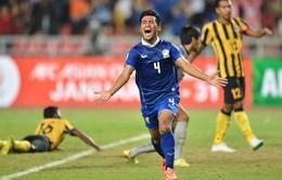Thắng cách biệt, Thái Lan chạm một tay vào chức vô địch AFF Cup