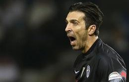 Buffon: Juventus sẽ mạnh mẽ hơn sau thất bại tại Siêu Cúp Italia
