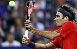 """Federer cho Novak Djokovic """"nếm trái đắng"""" ở BK Thượng Hải Masters"""