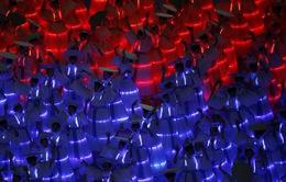 Màn biểu diễn 3D đặc sắc trong lễ khai mạc ASIAD 17 - Incheon 2014
