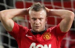 """""""Người thừa"""" Cleverley vẫn bơ vơ trong """"địa ngục"""" Man Utd"""