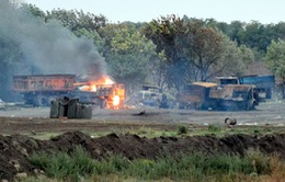 Quân đội Ukraine đẩy lùi cuộc tấn công vào sân bay Donetsk