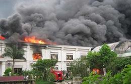 Nhiều nhà máy may mặc chưa cải thiện công tác an toàn cháy nổ