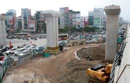 Mở rộng rào cản tại nút giao thông ngã tư Nguyễn Trãi - Khuất Duy Tiến
