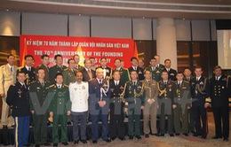 Kỷ niệm 70 năm thành lập QĐND Việt Nam tại Ấn Độ