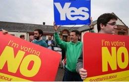 Anh cam kết cho Scotland nhiều quyền tự do kinh tế