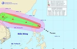 Đêm nay (14/9), tâm bão Kalmaegi đi vào Biển Đông